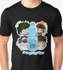 Cute Anime Boys Tears T-Shirt