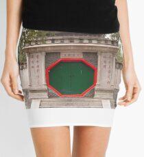 Chinese Gate Mini Skirt