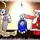 Christmas Interrogation by CodenameSailorE