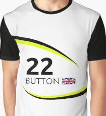 F1 Legends - Jenson Button [Brawn] Graphic T-Shirt