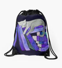 Literary Naps  Drawstring Bag