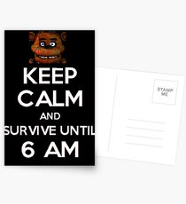 Five Nights at Freddy's Postcards