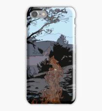 Camp Fire // Comic Style iPhone Case/Skin