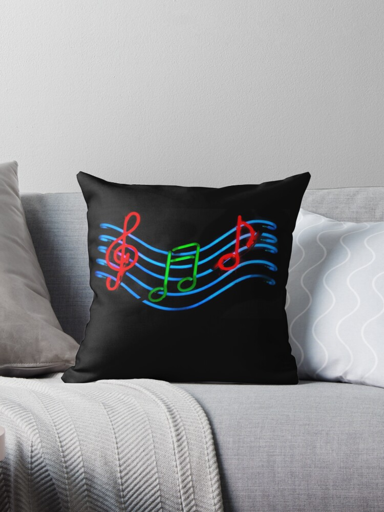 Music Neon Sign by Karin  Hildebrand Lau