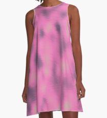 Zusammenfassung 080716 (010) Rosa Sache A-Linien Kleid
