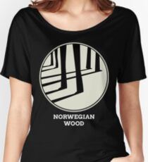 Norwegian Wood Murakami Women's Relaxed Fit T-Shirt