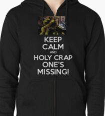 Five Nights at Freddy's: One's Missing! Zipped Hoodie