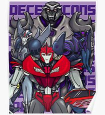 Decepticons, Rise Up! Poster