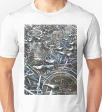 A Field of Bicycles Unisex T-Shirt