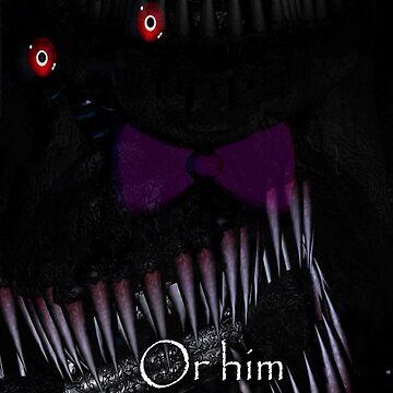 Nightmare Fredbear by ArianaFaithJ