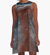 The Horsehead Nebula, constellation Orion, space, astronomy A-Line Dress