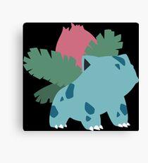 Kanto Starters - Ivysaur Canvas Print