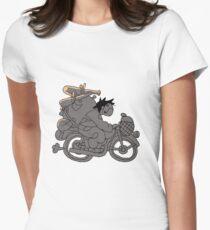 AUS - Motorradfahrer Zacharie Tailliertes T-Shirt für Frauen