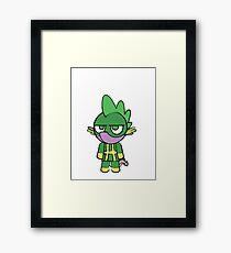 Hydra Spike Framed Print