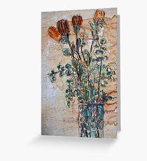 Australian flowers Greeting Card