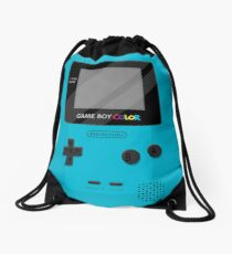 Gameboy Color 2.0 - Teal Drawstring Bag