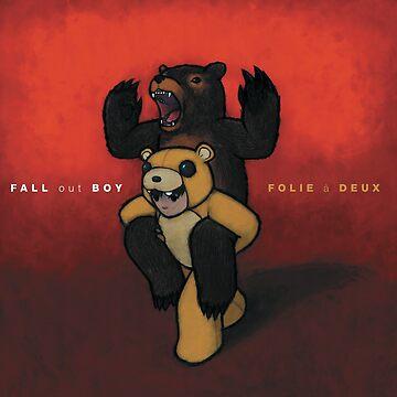 Fall Out Boy Folie a Deux wall flag scarf by givemeenvy