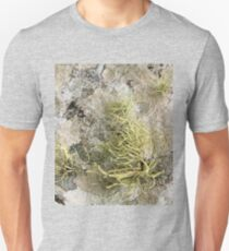 Lichen on tomb in Shalwy Valley, Kilcar, Donegal Unisex T-Shirt