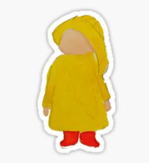 Toddies April Showers Rainy Day Toddler Sticker