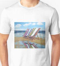 Deck Chairs  Unisex T-Shirt