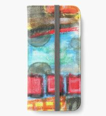 Crayon Color Explosion iPhone Wallet/Case/Skin