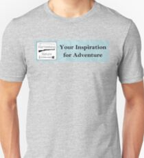 Your Inspiration for Adventure Slim Fit T-Shirt