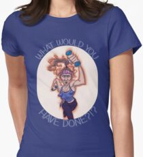 WHAT WOULD GAYLE HAVE DONE?!? Womens Fitted T-Shirt