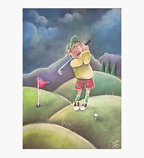 Out on the golf course Photographic Print