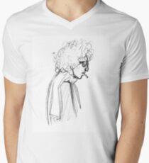 Ballad of a Sketched Man  Men's V-Neck T-Shirt