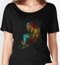 The Sad Jester - Colored Women's Relaxed Fit T-Shirt