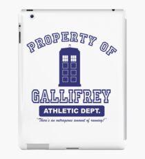 Property of Gallifrey Athletics iPad Case/Skin