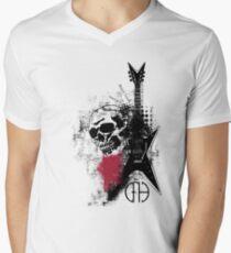 Trash Polka Dimebag Darrell Men's V-Neck T-Shirt