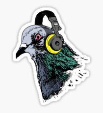 Techno Pigeon v2 Sticker