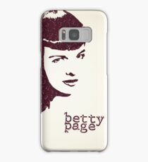 Icons - Betty Page Samsung Galaxy Case/Skin