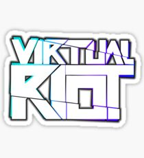 Virtual Riot Merch Sticker