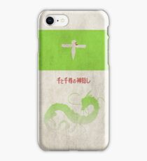 Ghibli Minimalist 'Spirited Away' iPhone Case/Skin