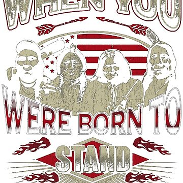 NATIVE AMERICAN WHY FIT IN WHEN YOU WERE BORN TO STAND OUT by NativeAmerican1