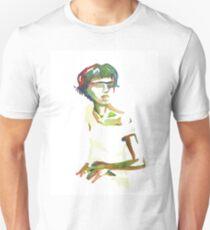 Autorretrato con ropa blanca Unisex T-Shirt
