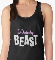 Dainty Beast (on black) Women's Tank Top