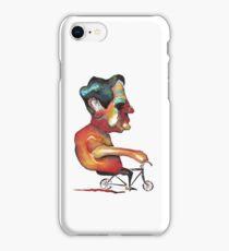 Andando en bici iPhone Case/Skin