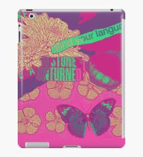 Language iPad Case/Skin