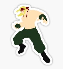 Minimalist Alex (Street Fighter Three) Sticker