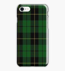 02054 Wallace Hunting Clan/Family Tartan  iPhone Case/Skin