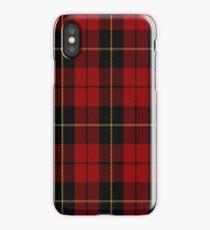 02052 Wallace Clan/Family Tartan  iPhone Case