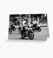 Traffic ... Ho Chi Minh City , Vietnam ... #02 Greeting Card