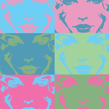Faces Pop Art by hayleyshangout