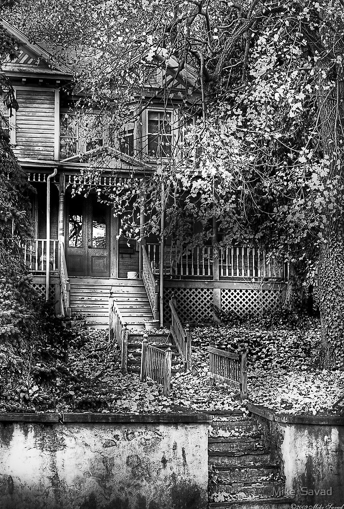 Abandoned and Possibly Haunted by Michael Savad