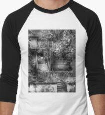 Abandoned and Possibly Haunted Men's Baseball ¾ T-Shirt