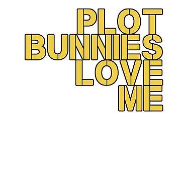Plot Bunnies Love Me - Orange by vampyremuffin