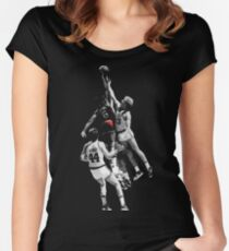 Dr. J Women's Fitted Scoop T-Shirt